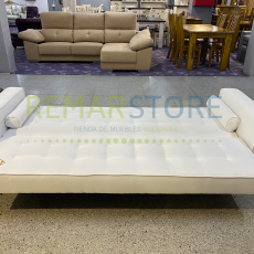 sofa cama blanco